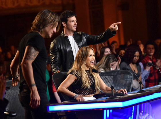 Keith Urban, Jennifer Lopez, Harry Connick Jr., American Idol