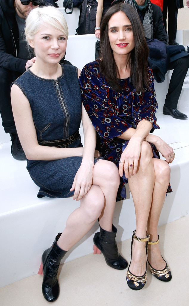 Michelle Williams, Jennifer Connelly, Stars at PFW