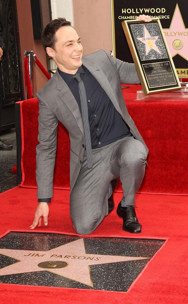 Jim Parsons, Hollywood Walk of Fame