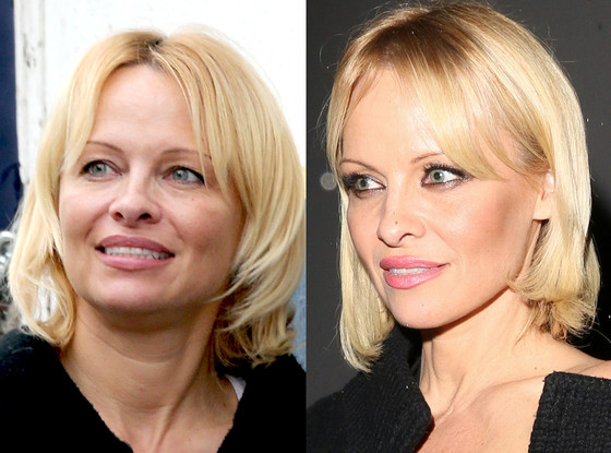 Pamela Anderson, No Make-Up