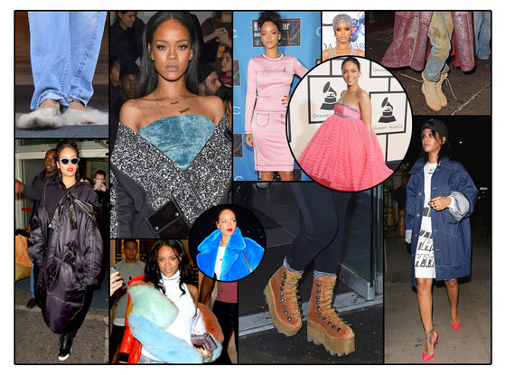 Rihanna's Odd Fashions