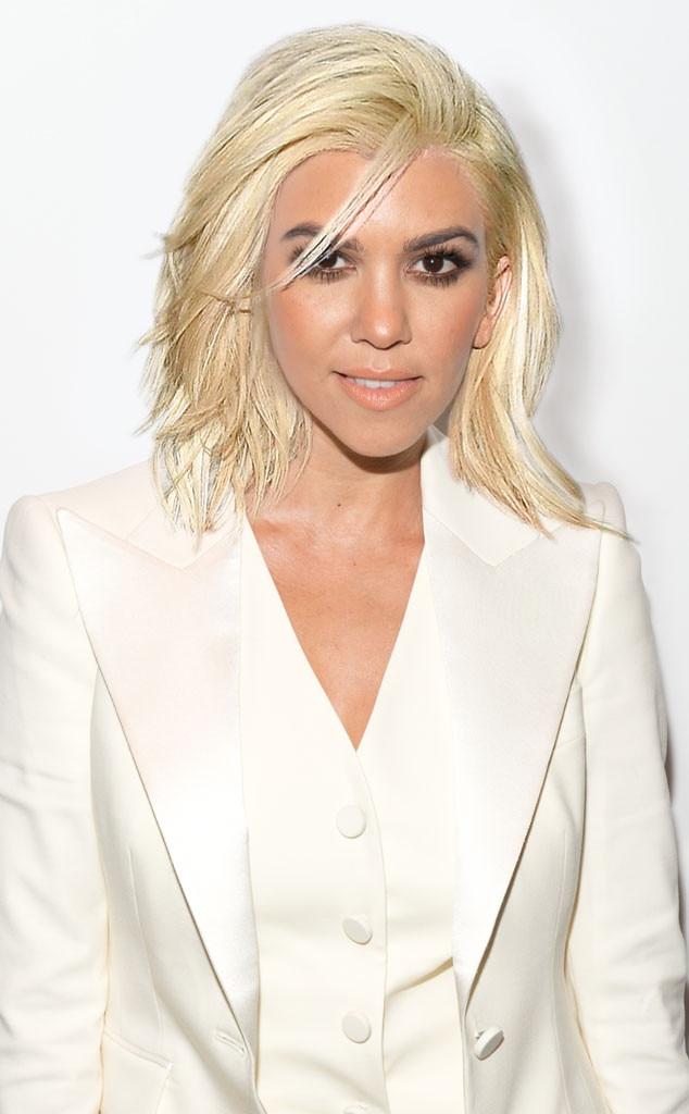 Kourtney Kardashian, Platinum Blonde