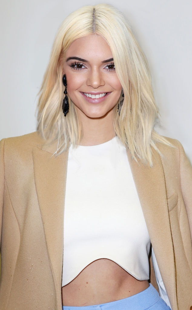 Kendall Jenner, Platinum Blonde