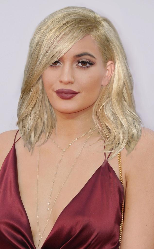 Kylie Kardashian From Kardashian Hair Swap Kim S Blond