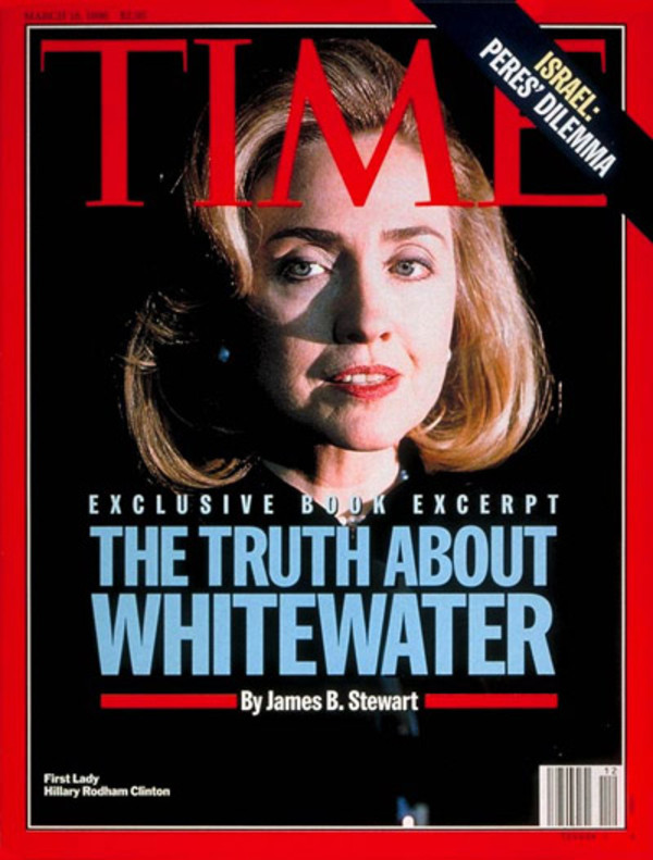 Hillary Clinton, Time Cover
