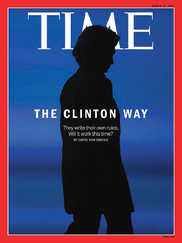 Hillary Clinton, Time Cover, 2015