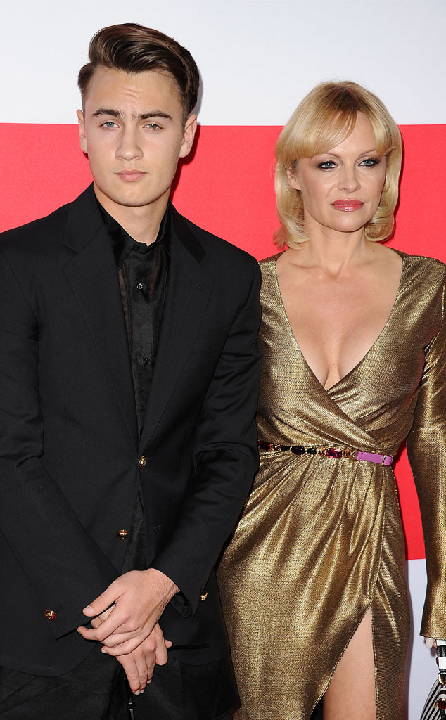 Brandon Thomas Lee, Pamela Anderson