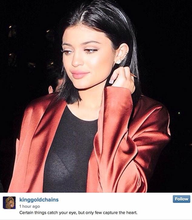 Kylie Jenner, Tyga Tweet
