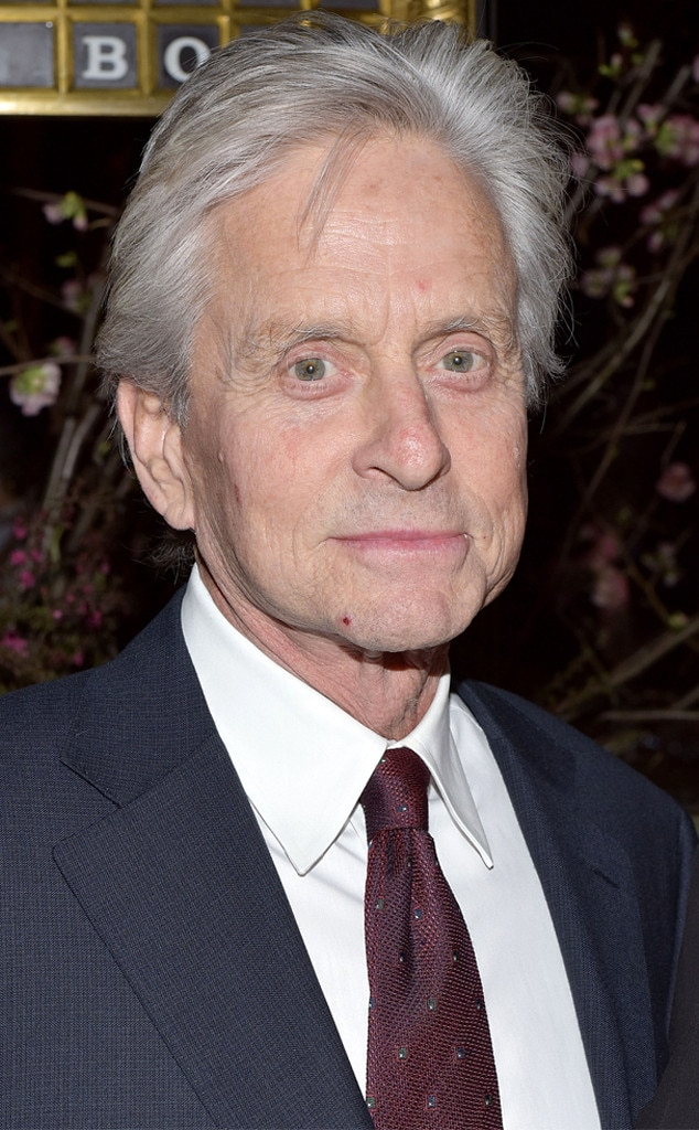 """Michael Douglas -  The Oscar winner declared in early 2011 that his tumor was gone and he had throat cancer """"beat."""""""