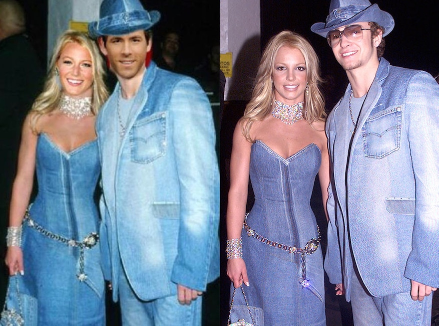 Why Britney Spears And Justin Timberlake Can T Say Bye Bye Bye To Their Iconic Denim Look Trv Countdown