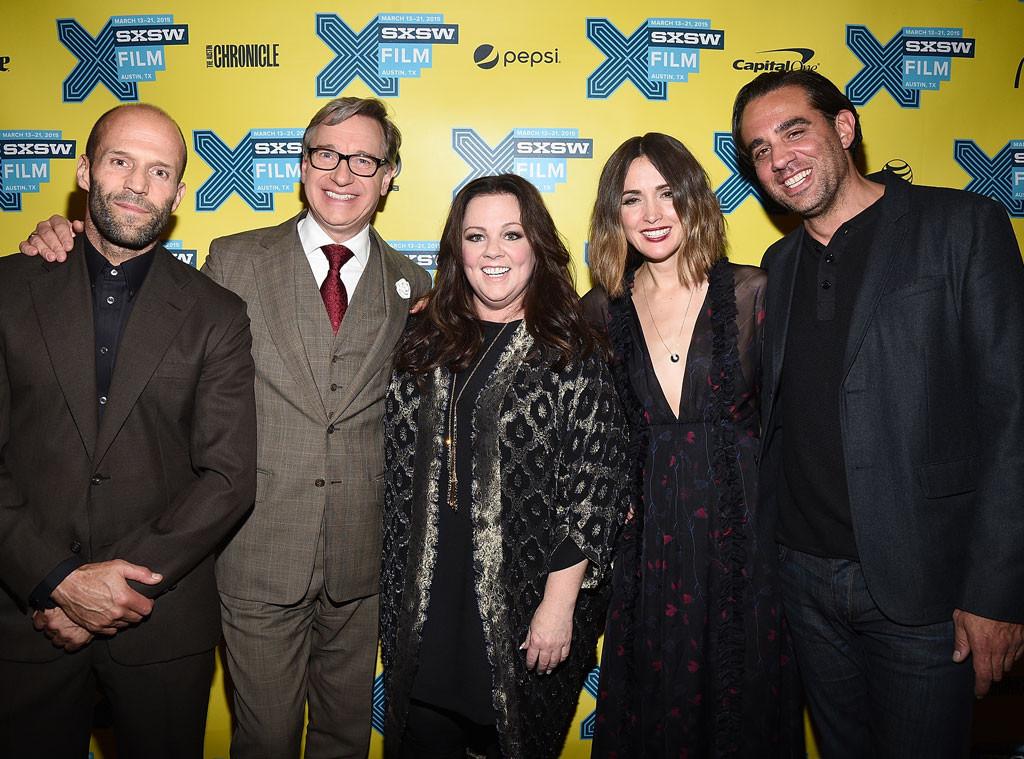 Jason Statham, Paul Feig, Melissa McCarthy, Rose Byrne, Bobby Cannavale, SXSW