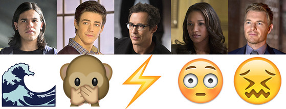 The Flash, Emojis