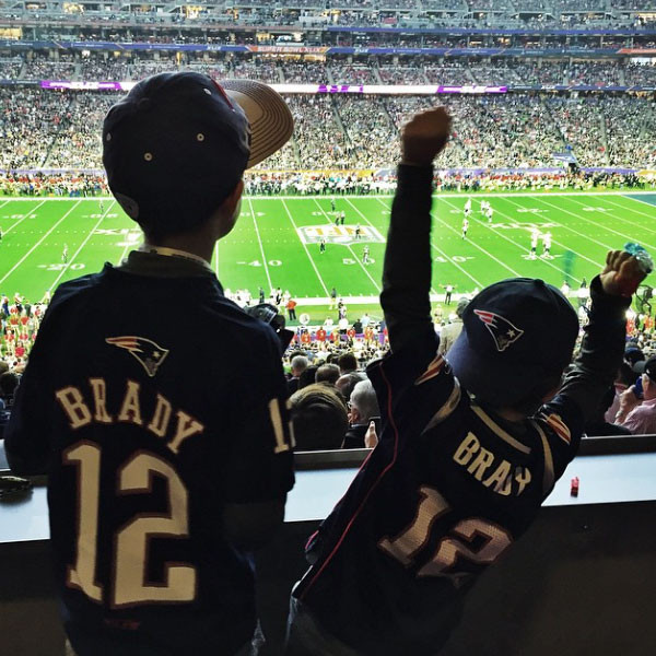 Tom Brady, Kids, Instagram