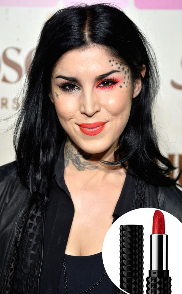 yikes kat von d is probably going to have to pull another inappropriately named lipstick off. Black Bedroom Furniture Sets. Home Design Ideas