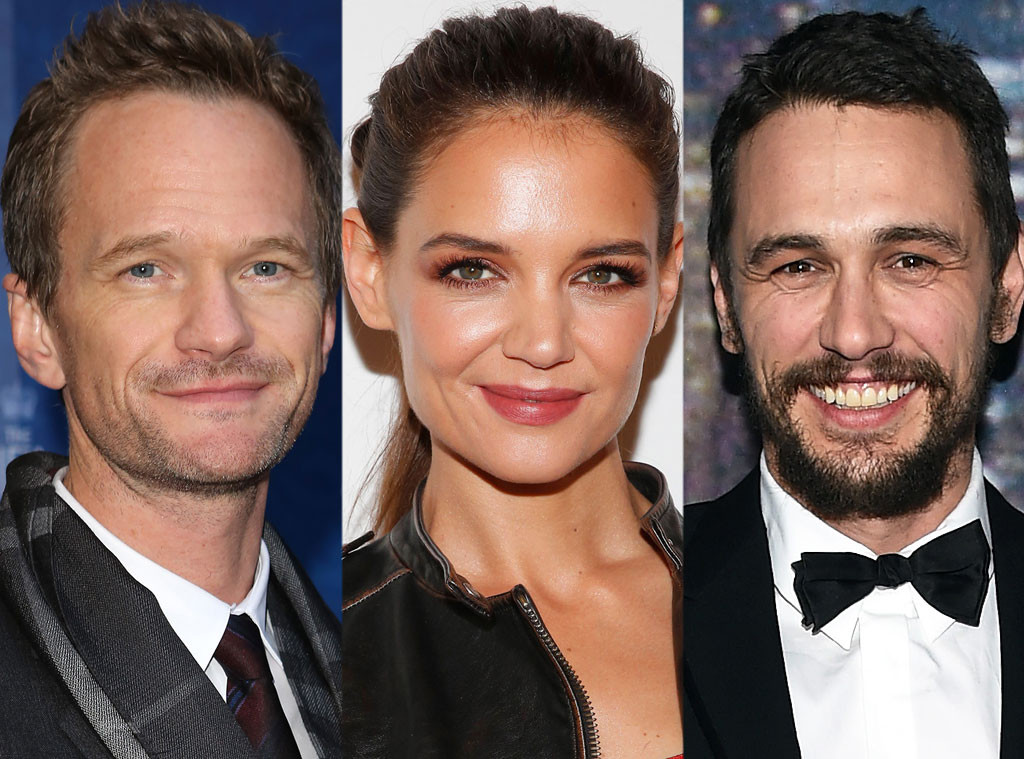 Neil Patrick Harris, Katie Holmes, James Franco, St. Patricks Day