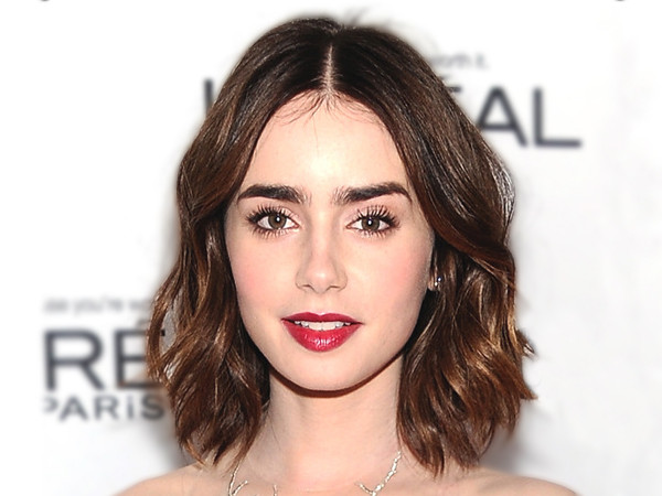 ESC, Dont Wax Eyebrows Lily Collins, Glamour Awards