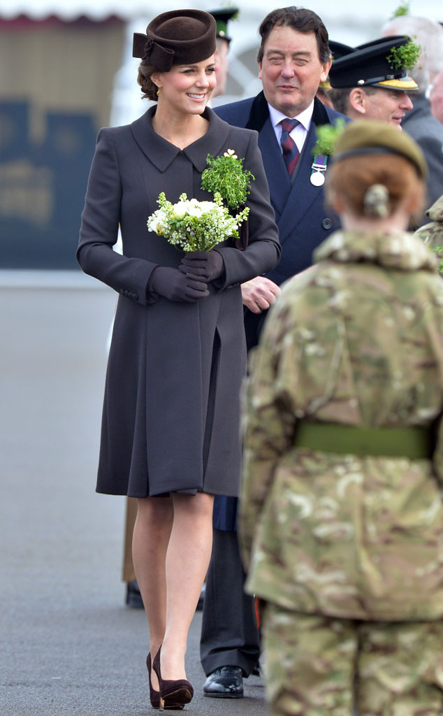 Catherine, Duchess of Cambridge, Kate Middleton, St Patrick's Day, 2015