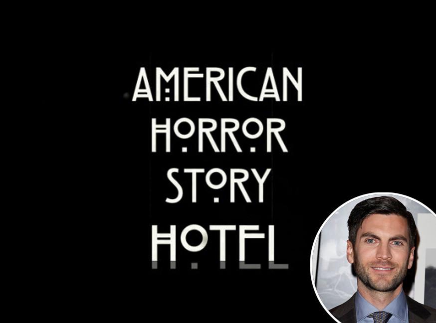 Wes Bentley, Lady Gaga, American Horror Story: Hotel