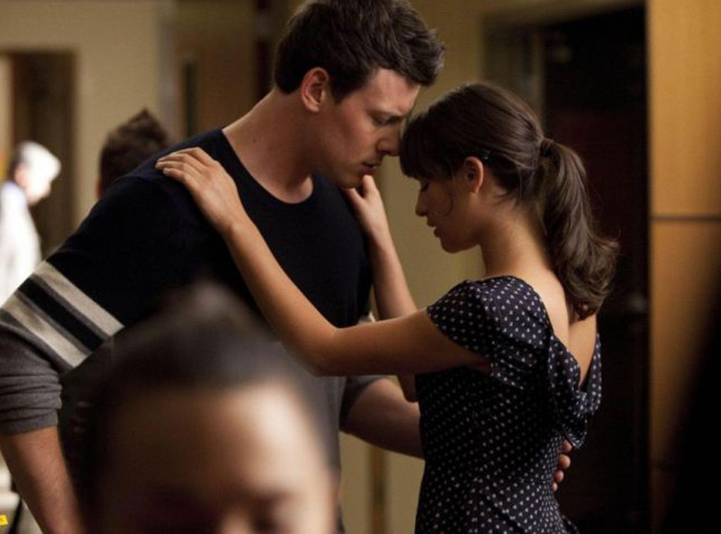 Cory Monteith, Lea Michele, Glee, First Times