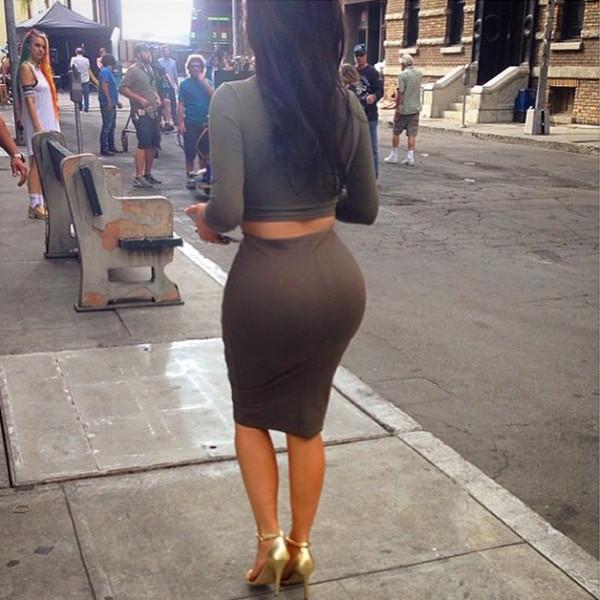 Kim Kardashian, Brunette, Instagram