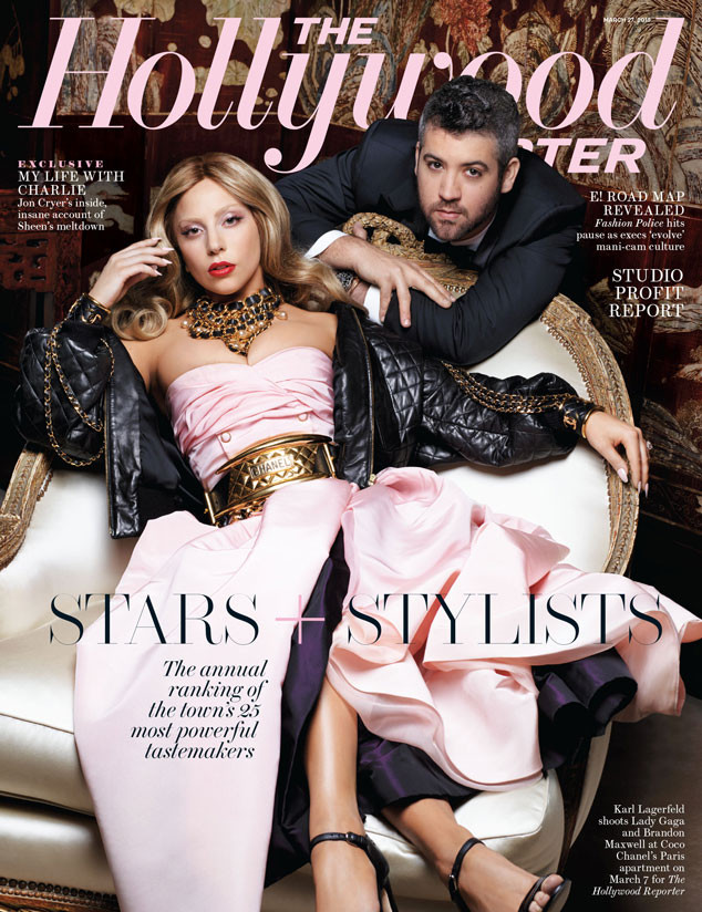 The Hollywood Reporter, Lady Gaga, Brandon Maxwell