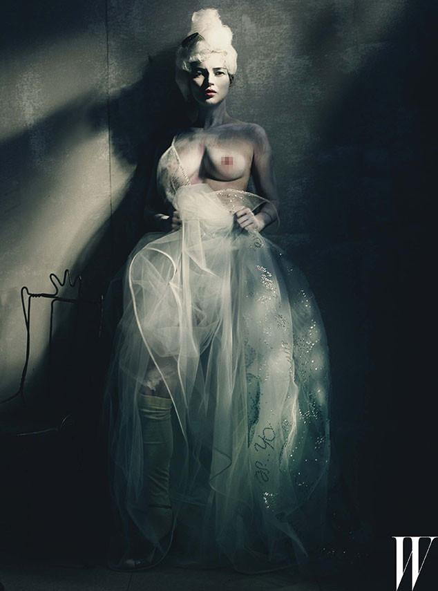 Kate Moss, W Magazine