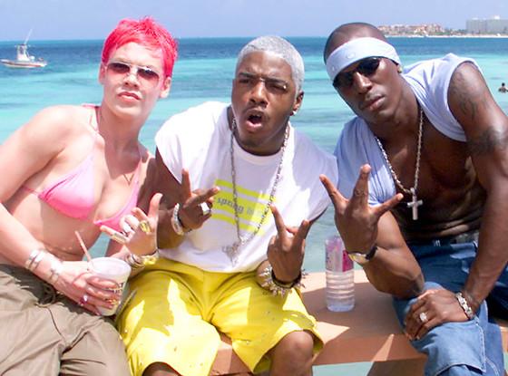 Spring Break, Pink, Rapper Sisqo, Tyrese