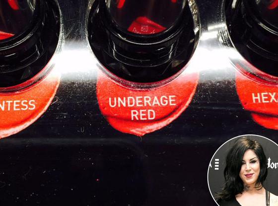 Kat Von D Lipstick, Underage Red