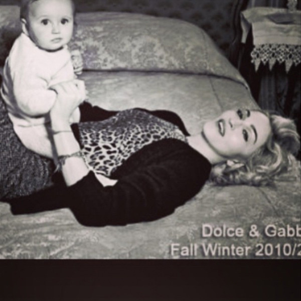 Madonna, Dolce and Gabbana, Instagram