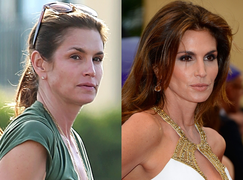 Cindy Crawford from Stars Without Makeup | E! News