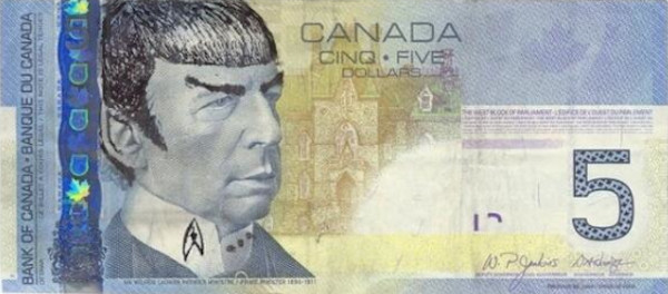 Leonard Nimoy, Spock Money
