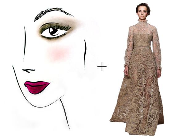 Style Collective, Dress Makeup Pairings, Tina Turnbow