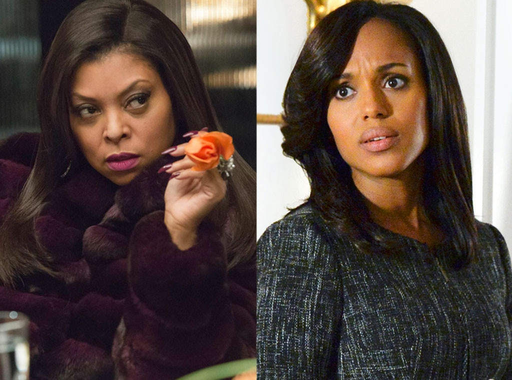 """Taraji P. Henson as Olivia Pope on  Scandal  -  Before she was breaking records on Fox's  Empire ,  Taraji P. Henson revealed  she auditioned to be Scandal's ultimate fixer, Olivia Pope. """"When I went in to read for  Shonda Rhimes , in my mind I was like, 'This is  Kerry Washington . Why am I even in here?'…It was hers,"""" she said."""