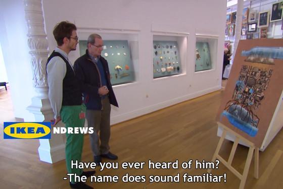 Ikea museum prank