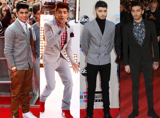 One Direction, Zain Malik, Fashion