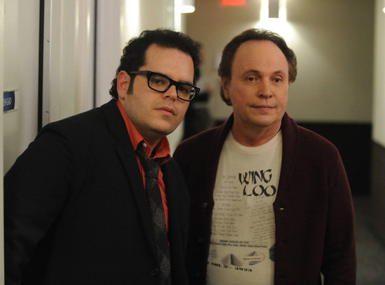 Josh Gad, Billy Crystal, The Comedians