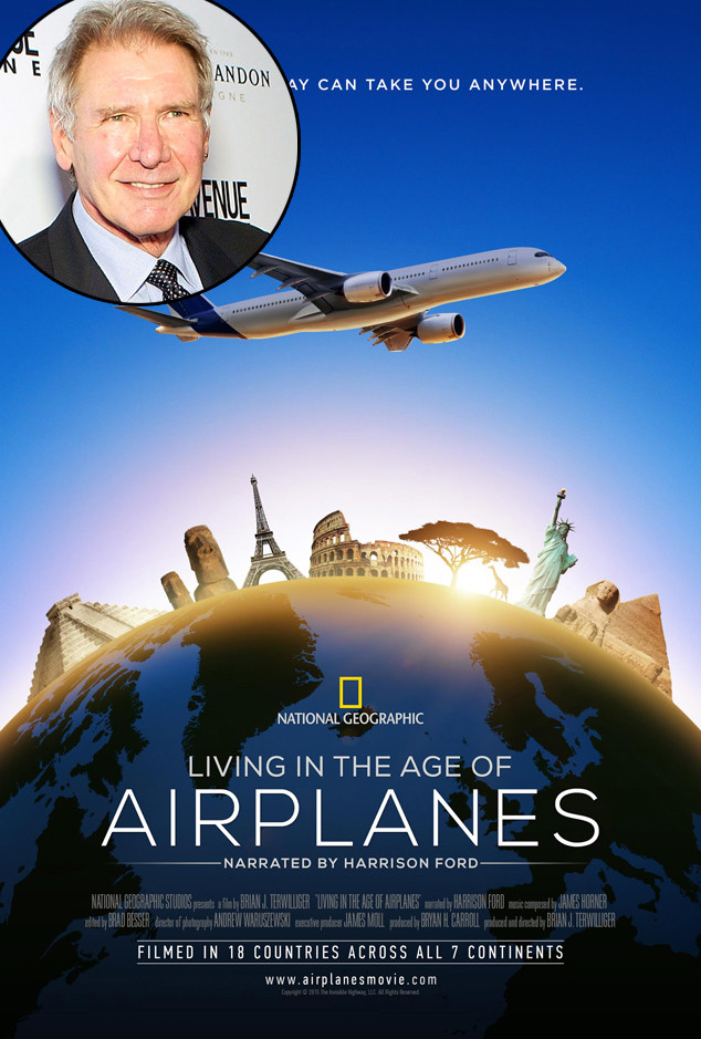 Living in the Age of Airplanes, Harrison Ford