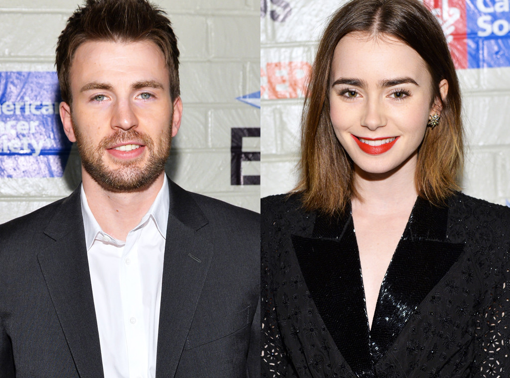 Chris Evans, Lily Collins