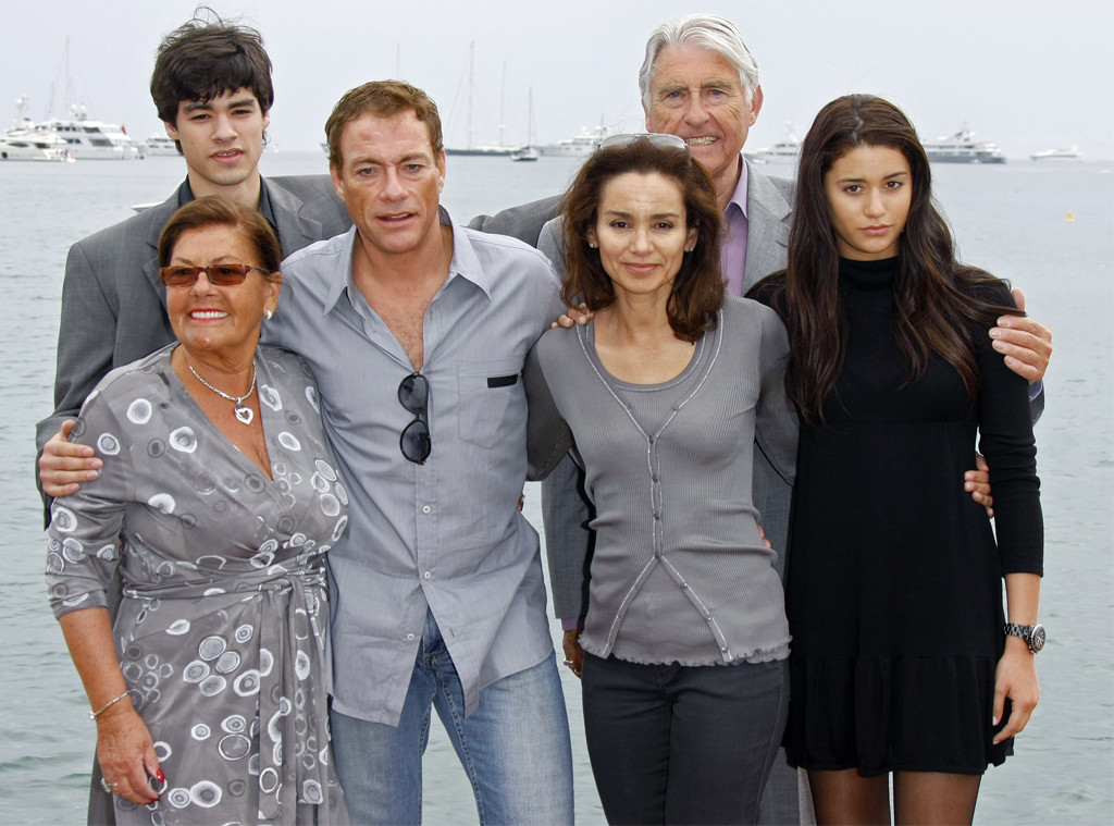 Jean-Claude Van Damme and Wife Gladys to D