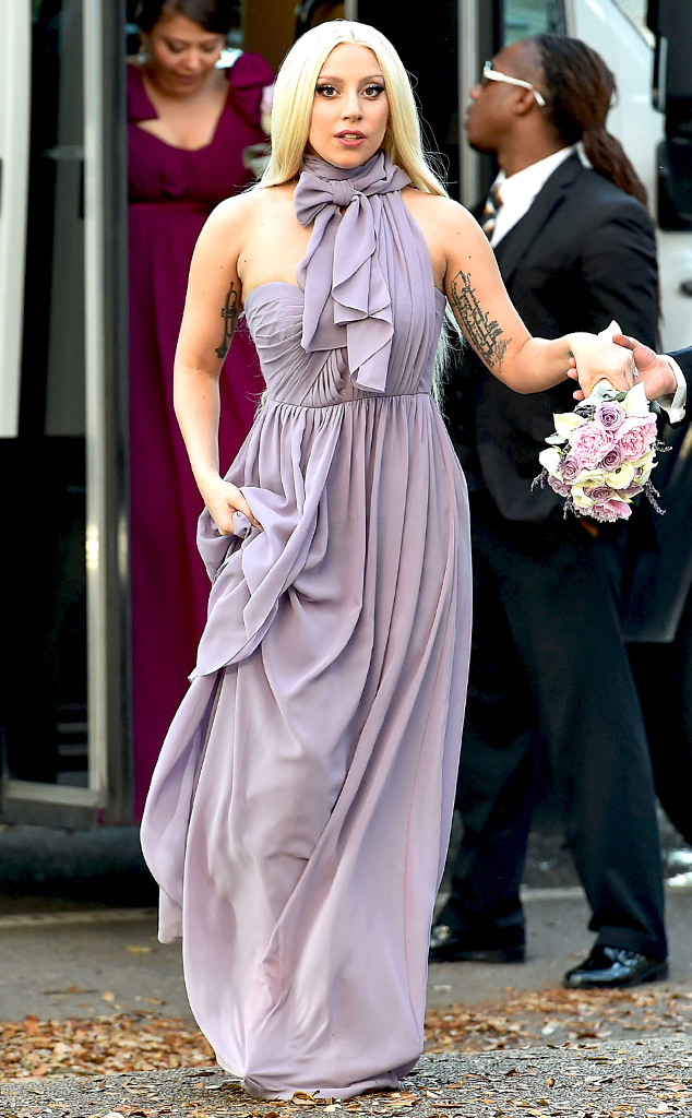 Lady Gaga Wedding.Newly Engaged Lady Gaga Looks Ready To Say I Do While Attending Her