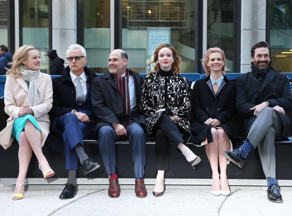 Mad Men Cast, Jon Hamm, January Jones, Elisabeth Moss, Christina Hendricks, John Slattery, Matthew Weiner