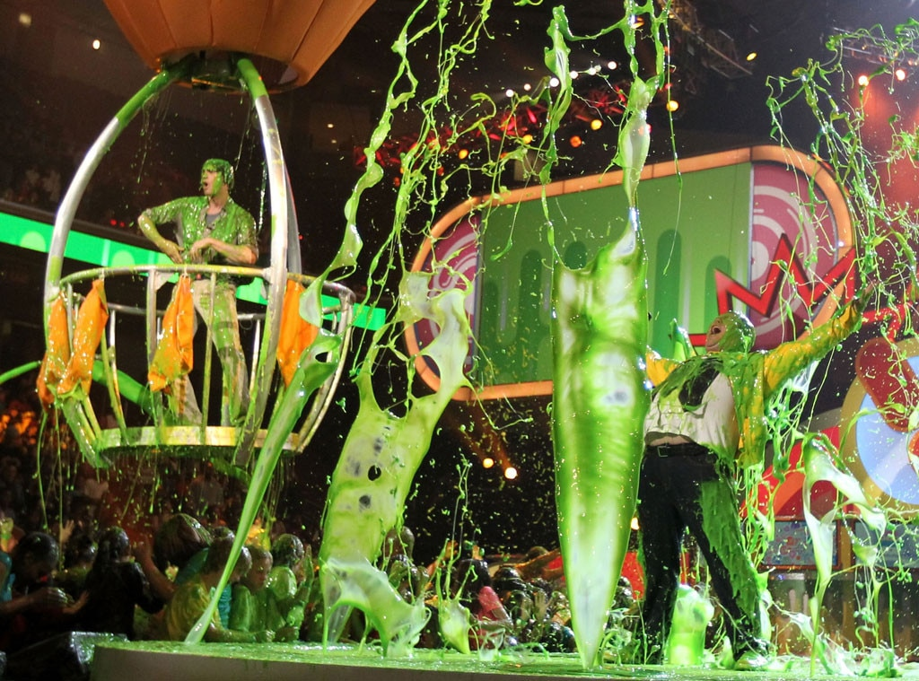 Jack Black, Jim Carrey, 2011 Kids Choice Awards, Slime