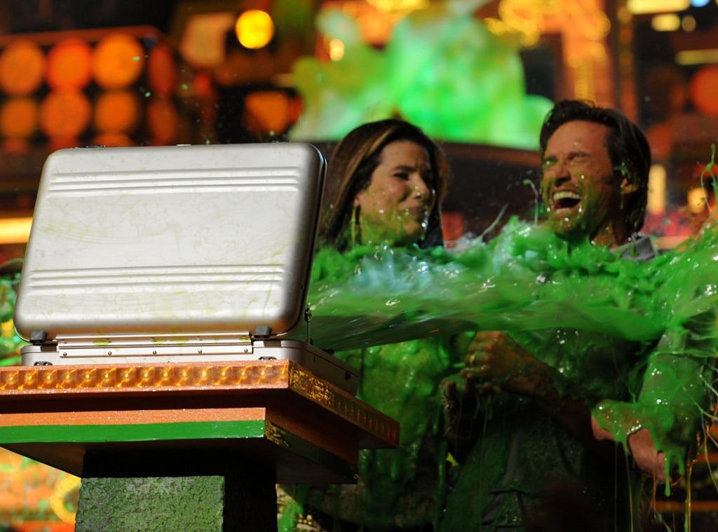 Sandra Bullock, Hugh Jackman, Kids Choice Awards