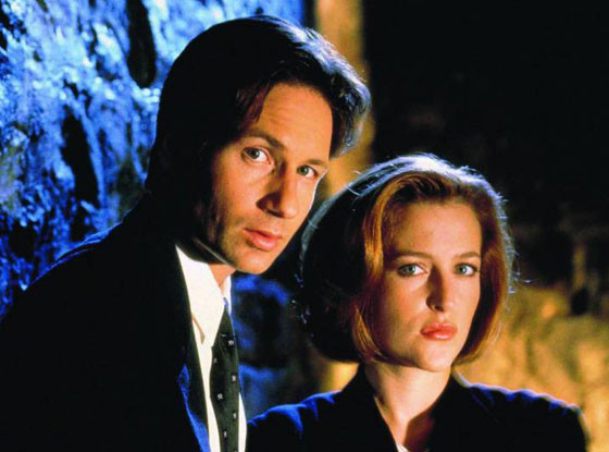 David Duchovny, Gillian Anderson, The X-Files