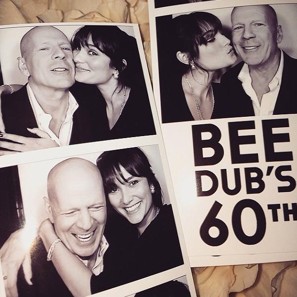 Bruce Willis, Isntagram