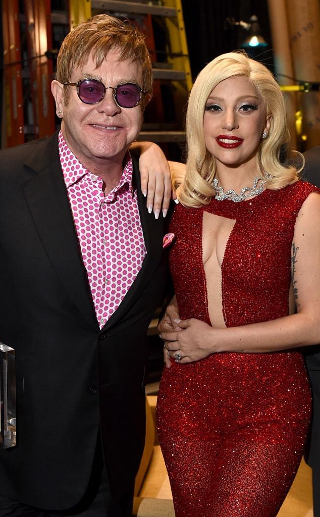 Elton John, Lady Gaga