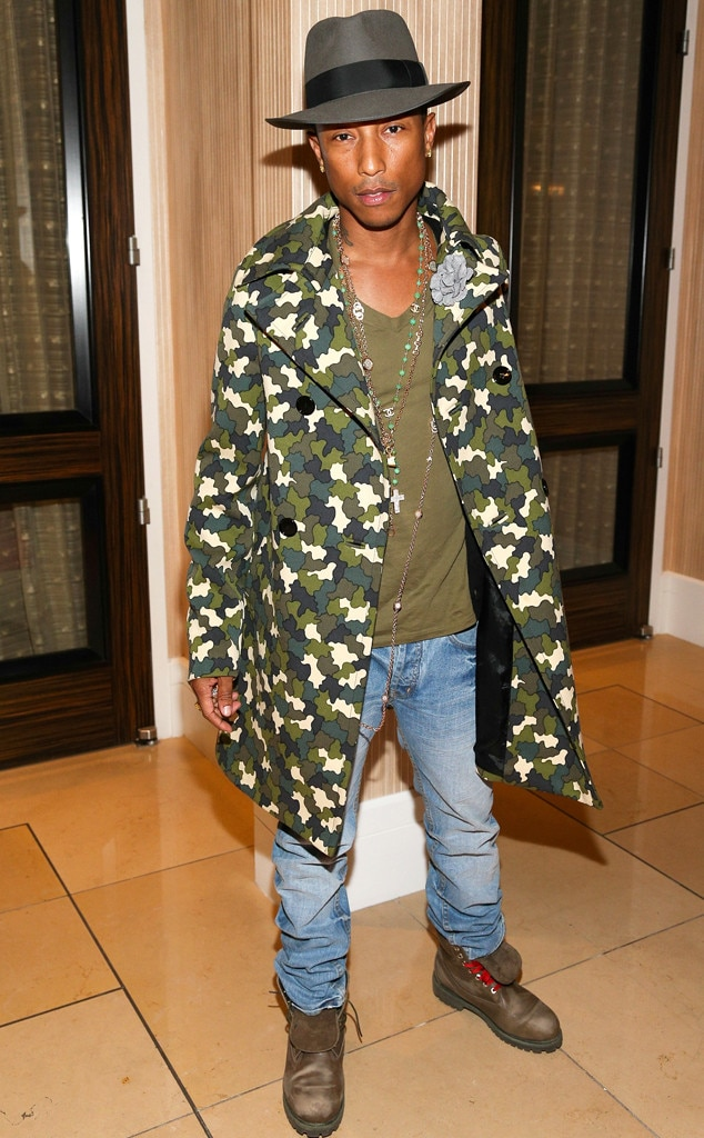Camo Couture from Pharrell Williams  Funky-Fresh Fashion  38449aba9a4