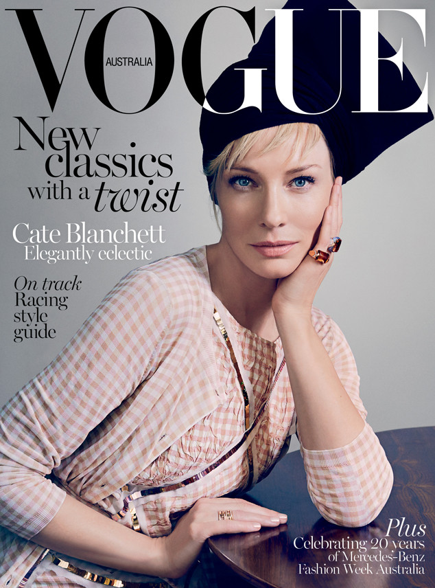 Cate Blanchett, Vogue Australia