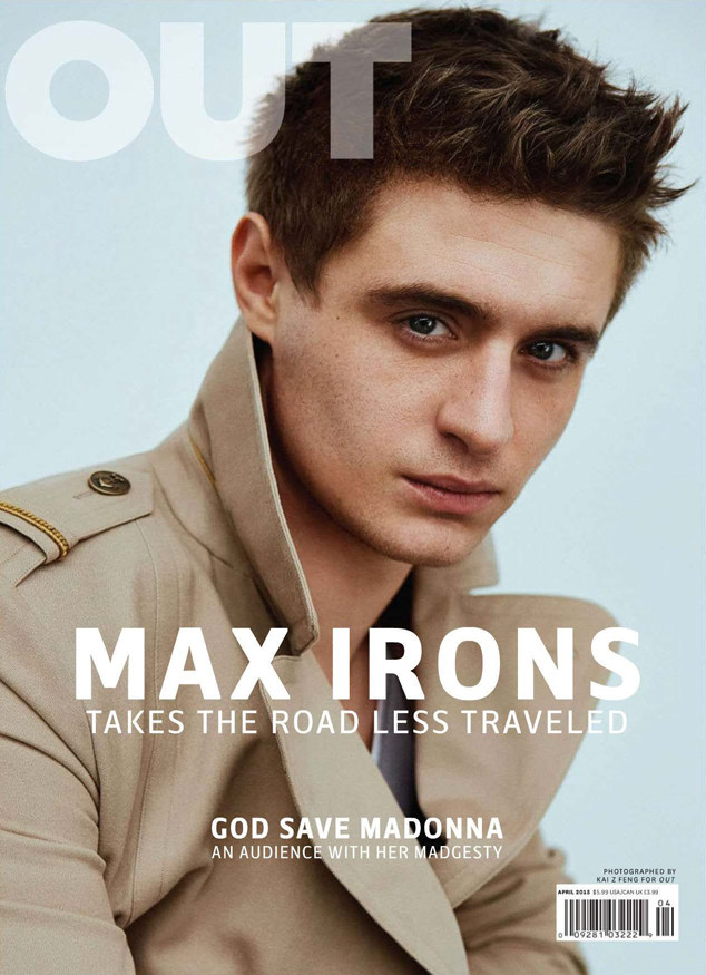 Max Irons, OUT Magazine