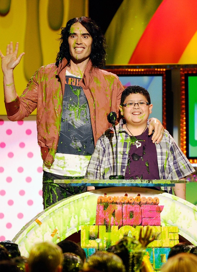 Russell Brand, Rico Rodriguez, 2011 Kids Choice Awards, Slime